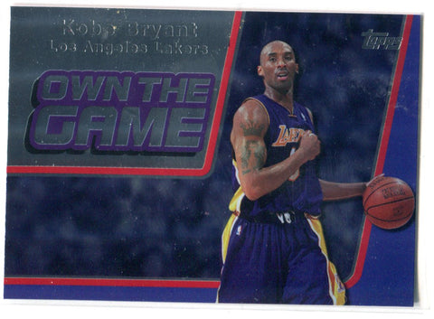 Kobe Bryant 2006 Topps Own The Game #OTG1 Card