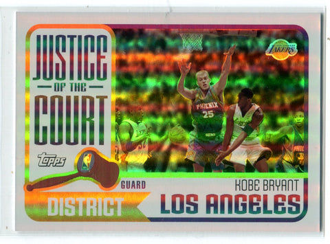 Kobe Bryant 2003 Topps Justice Of The Court #JC-12 Card