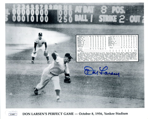 Don Larsen Autographed 8x10 Photo (JSA)