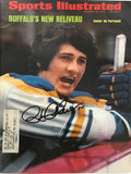 Gil Perreault Signed Sports Illustrated February 26 1973