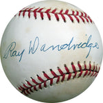 Ray Dandridge Autographed Baseball