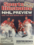 Chris Chelios Signed Sports Illustrated October 14 2002