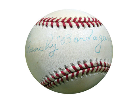Frenchy Bordagaray Autographed Baseball