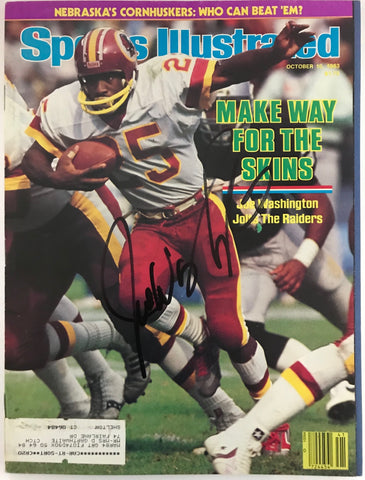 Joe Washington Signed Sports Illustrated October 10 1983