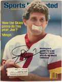 Joe Theismann Signed Sports Illustrated September 3 1984