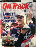 Dale Jarrett Signed On Track Magazine August 26 1999