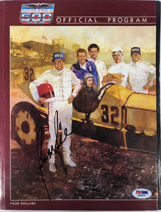 Bobby Rahal Signed Indianapolis 500 Program May 25 1986 (PSA)