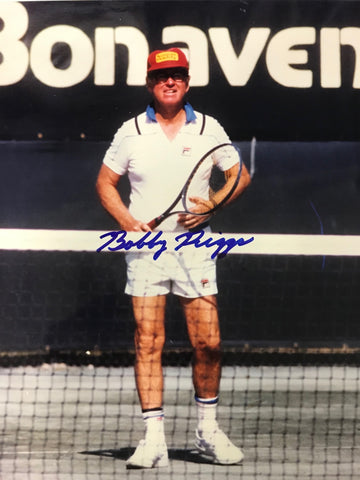 Bobby Riggs Signed 8x10 Photo