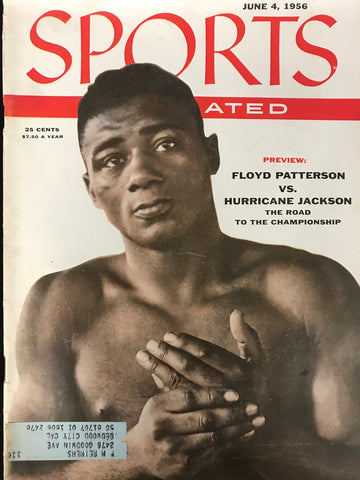 Floyd Patterson Unsigned Sports Illustrated Magazine June 4 1956