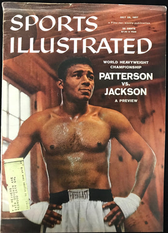 Floyd Patterson Unsigned Sports Illustrated July 29 1957