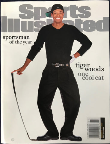 Tiger Woods Unsigned Sports Illustrated Magazine December 18 2000