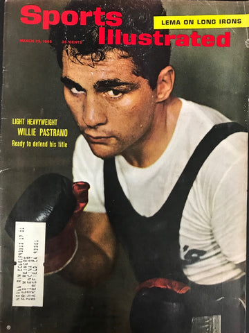 Willie Pastrano Unsigned Sports Illustrated March 22 1965