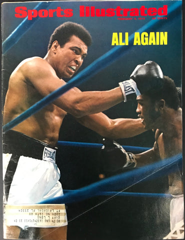 Muhammad Ali Unsigned Sports Illustrated February 4 1974