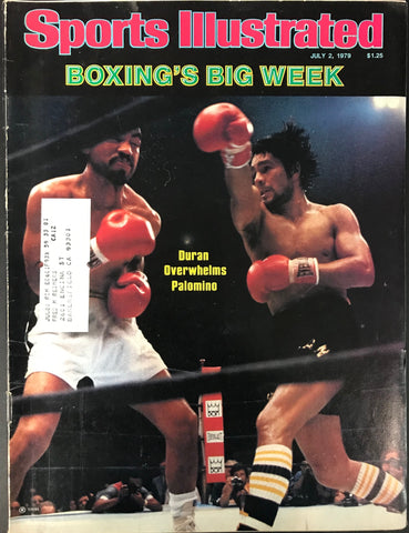 Roberto Duran & Carlos Palomino Unsigned Sports Illustrated July 2 1979