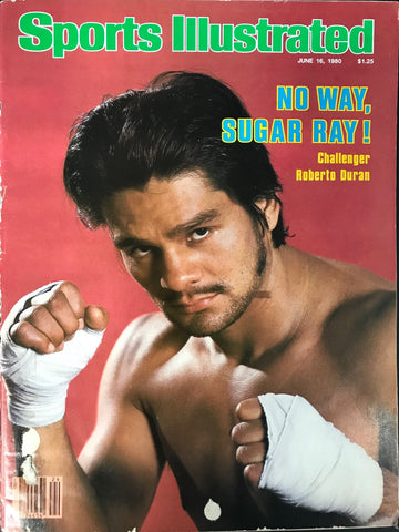 Roberto Duran Unsigned Sports Illustrated June 16 1980