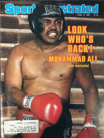 Muhammad Ali Unsigned Sports Illustrated April 14 1980