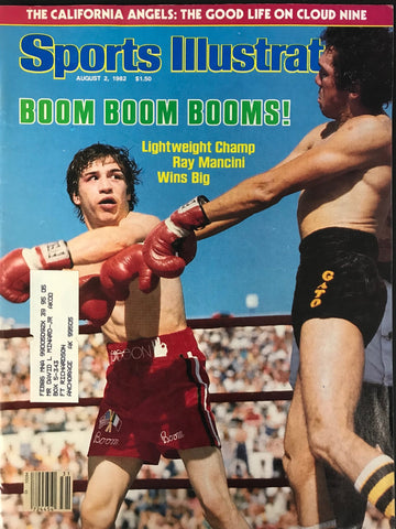 Ray Boom Boom Mancini Unsigned Sports Illustrated August 2 1982