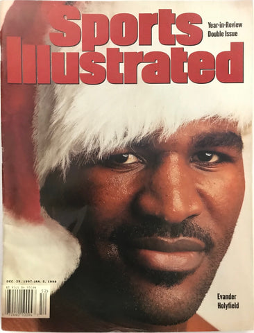 Evander Holyfield Unsigned Sports Illustrated December 29 1997