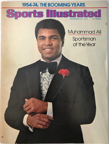 Muhammad Ali Unsigned Sports Illustrated December 23 1974