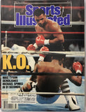 Mike Tyson & Michael Spinks Unsigned Sports Illustrated July 4 1988