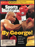 George Foreman & Michael Moorer Unsigned Sports Illustrated November 14 1994