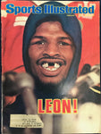 Leon Spinks Unsigned Sports Illustrated Magazine September 27 1978