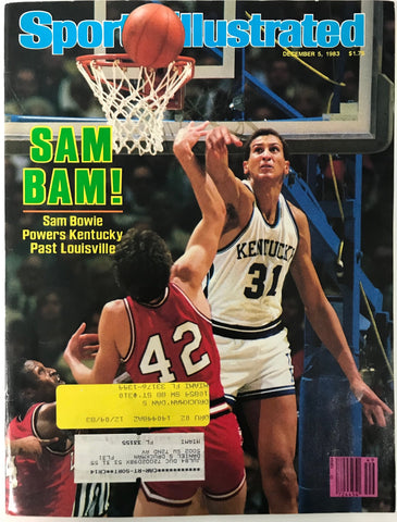 Sam Bowie Unsigned Sports Illustrated December 5 1983