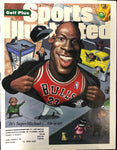 Michael Jordan Unsigned Sports Illustrated March 20 1995