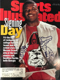 Marcus Stroud Unsigned Sports Illustrated February 19 1996