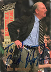 Red Holzman Signed 1993 Action Packed Card