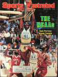 Sam Perkins Unsigned Sports Illustrated Magazine March 26 1984