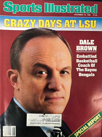 Dale Brown unsigned Sports Illustrated November 18 1985