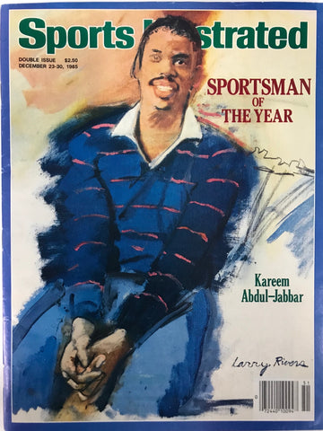 Kareem Abdul-Jabbar Unsigned Sports Illustrated Magazine December 23 1985