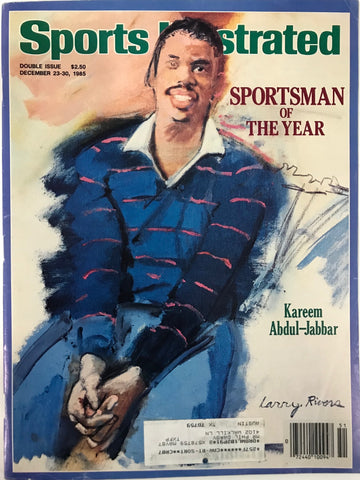 Kareem Abdul-Jabbar Unsigned Sports Illustrated Magazine June 17 1985