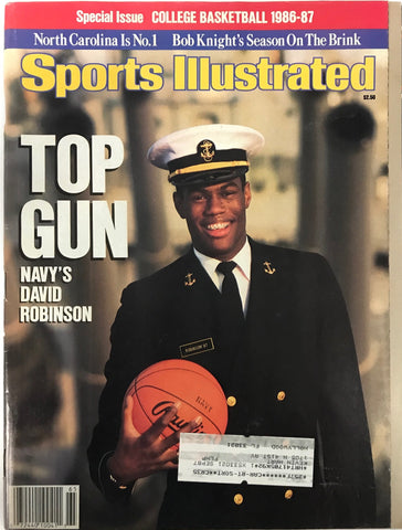 David Robinson Unsigned Sports Illustrated November 19 1996