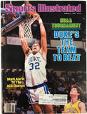 Mark Alarie Unsigned Sports Illustrated March 17 1986