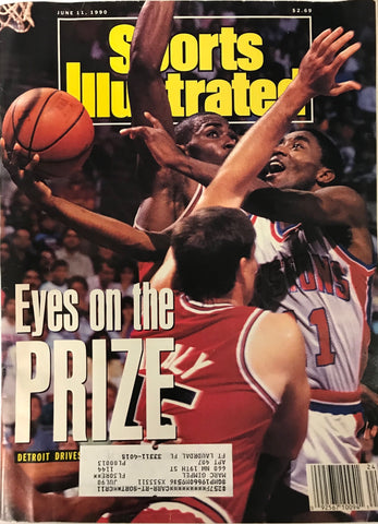Isiah Thomas Unsigned Sports Illustrated Magazine June 11 1990