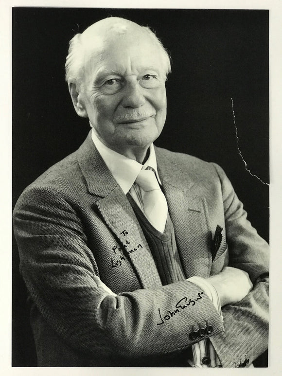 John Gielgud Signed 8x10 Photo