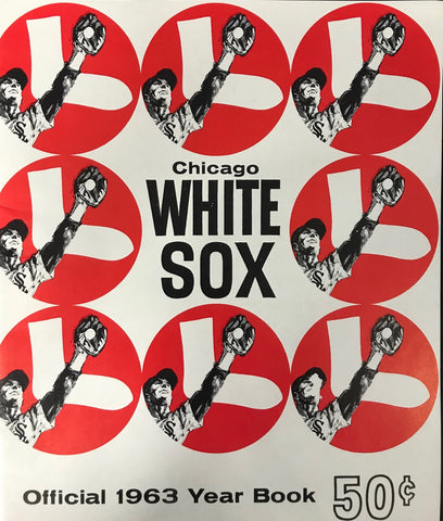 1963 Chicago White Sox Official Year book