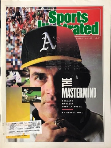 Tony LaRussa unsigned Sports Illustrated March 12 1990