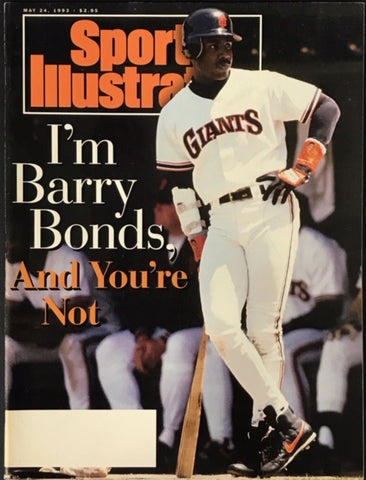 Barry Bonds unsigned Sports Illustrated  May 24 1993