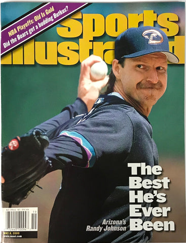 Randy Johnson Unsigned Sports Illustrated Magazine May 8 2000