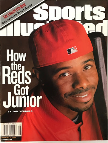 Ken Griffey Jr Sports Illustrated Magazine Magazine February 21 2000