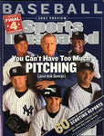 Pettitte,Clemens,Mussina,Contreras,& Weaver Unsigned Sports Illustrated March 31 2003