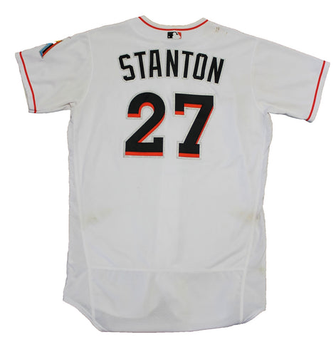 Giancarlo Stanton Game Used 2016 Opening Day Jersey (MLB)
