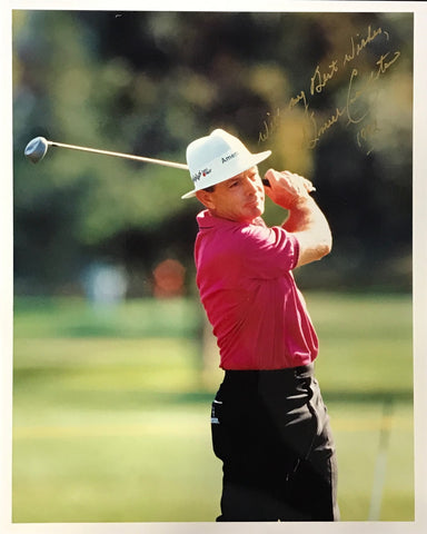 Bruce Crampton Signed Golf 8x10 Photo