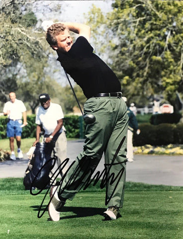 Colin Montgomerie Signed 8x10 Photo