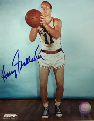 Harry Gallatin Signed Autographed 8x10 Photo