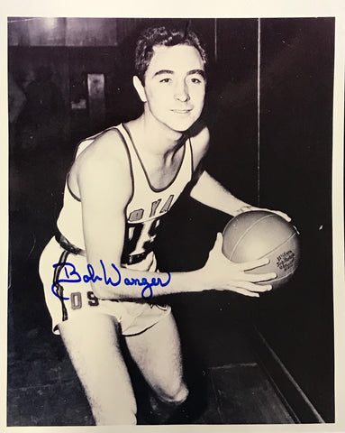 Bobby Wanzer Autographed 8x10 Photo Rochester Royals