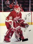 Chris Osgood Signed 8x10 Photo Detroit Red Wings